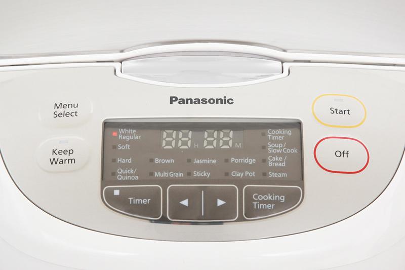 Hiện đại, dễ dùng, đa chức năng nấu - Nồi cơm điện tử Panasonic SR-CX188SRA