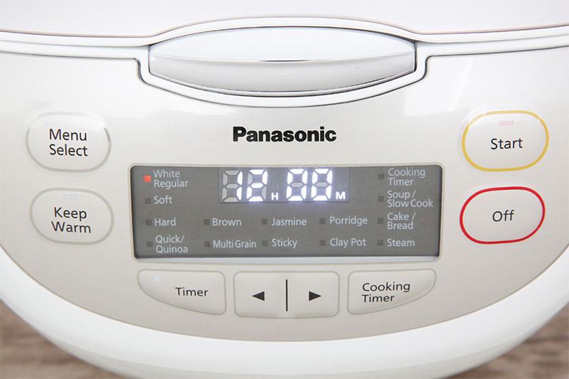 Menu nấu tự động da dạng - Nồi cơm điện tử Panasonic 1.8 lít SR-CP188NRA