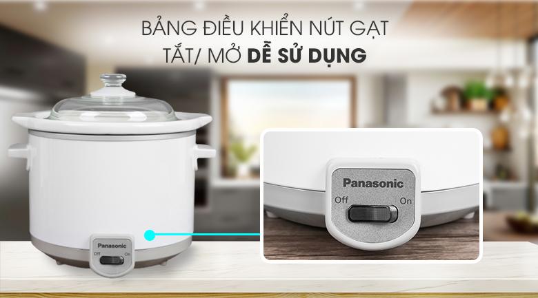 Bảng điều khiển -  nồi nấu chậm Panasonic 1.5 lít NF-N15SRA