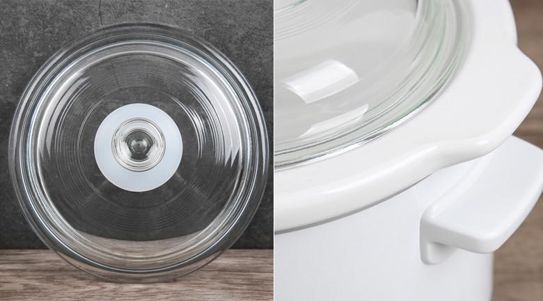 Nắp kính sang trọng, tiện dụng - Nồi nấu chậm Panasonic 1.5 lít NF-N15SRA