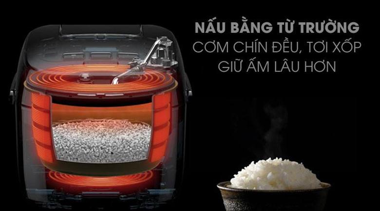 Công nghệ cao tần nấu cơm ngon - Nồi cơm cao tần GREE 4 lít GDCFWK-4004Ca