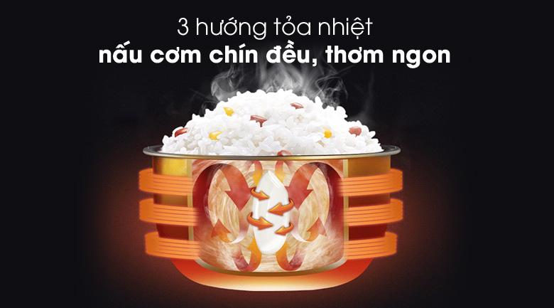 Nấu cơm ngon - Nồi cơm điện nắp gài Comfee 1.8 lít CR-CM1820(C)