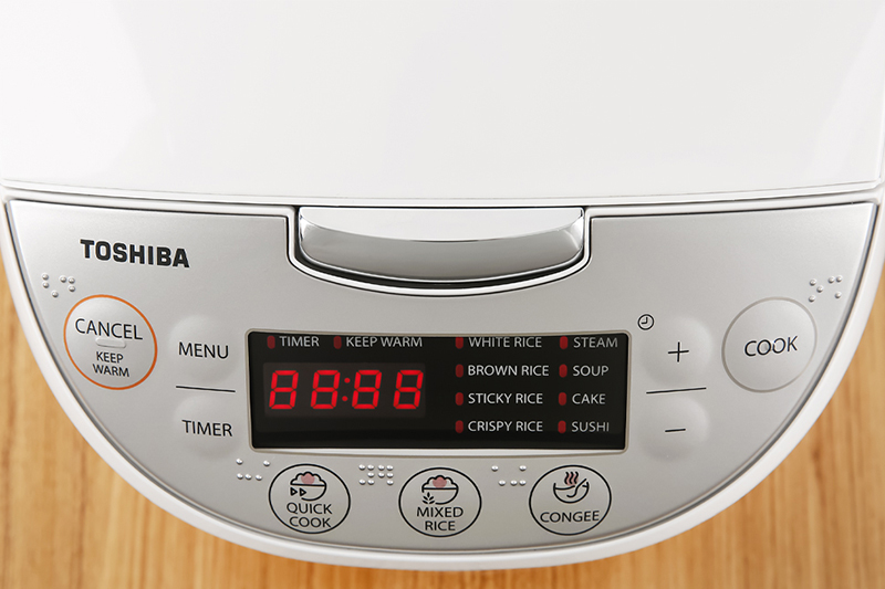 Bảng điều khiển Toshiba 1.8 lít RC-18DH2PV(W)