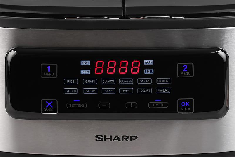 Bảng điều khiển Sharp 1.8 lít KN-TC50VN-SL Bạc