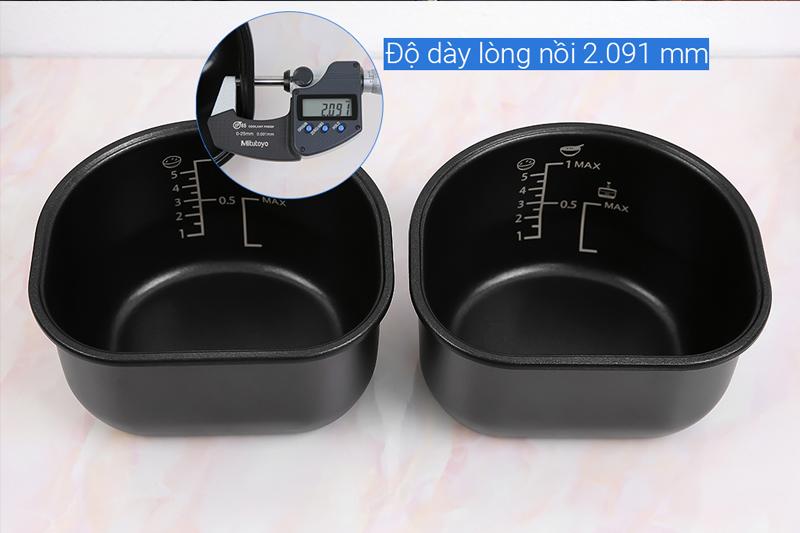 Lòng nồi Sharp 1.8 lít KN-TC50VN-SL Bạc