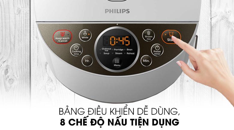 Dễ dùng - Nồi cơm điện tử Philips 1.8 lít HD4515