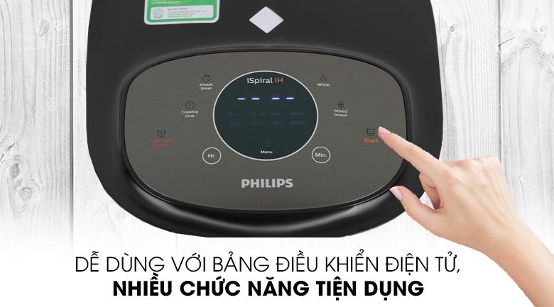 Hiện đại, tiện dụng - Nồi cơm cao tần Philips 1.5 lít HD4528