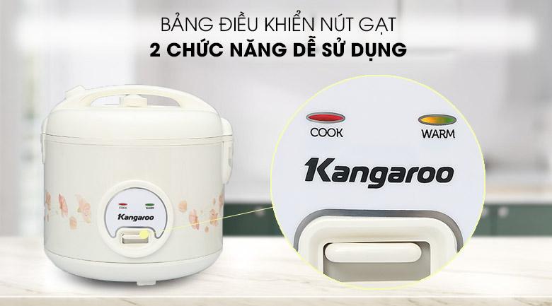 Điều khiển nút gạt - Nồi cơm điện nắp gài Kangaroo 1.8 lít KG18RC3