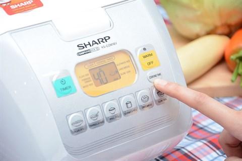 Nồi cơm điện Sharp 1.8 lít KS-COM18V