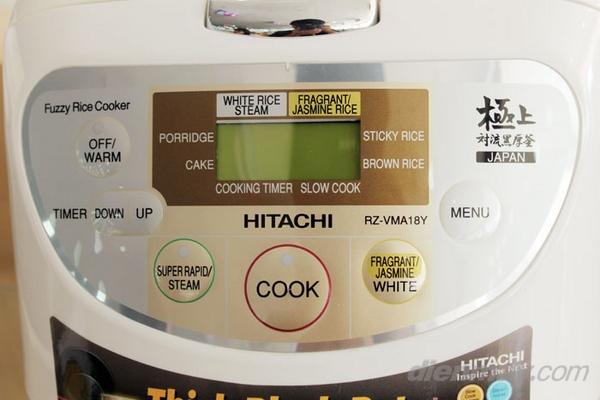 Nồi cơm điện tử Hitachi VMA18Y