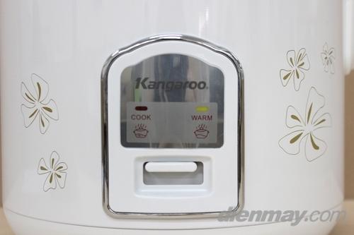 Nồi cơm điện Kangaroo KG376 cơ chế nấu và hâm tự động