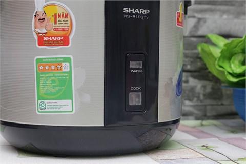 Nồi cơm điện Sharp 1.8 lít KS-R18STV