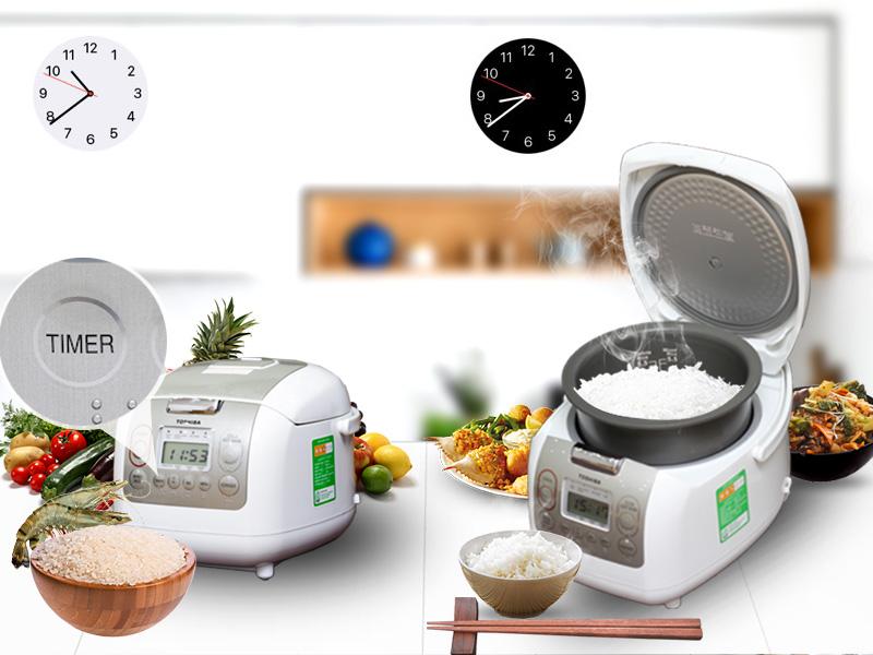 Hẹn giờ nấu tiện dụng