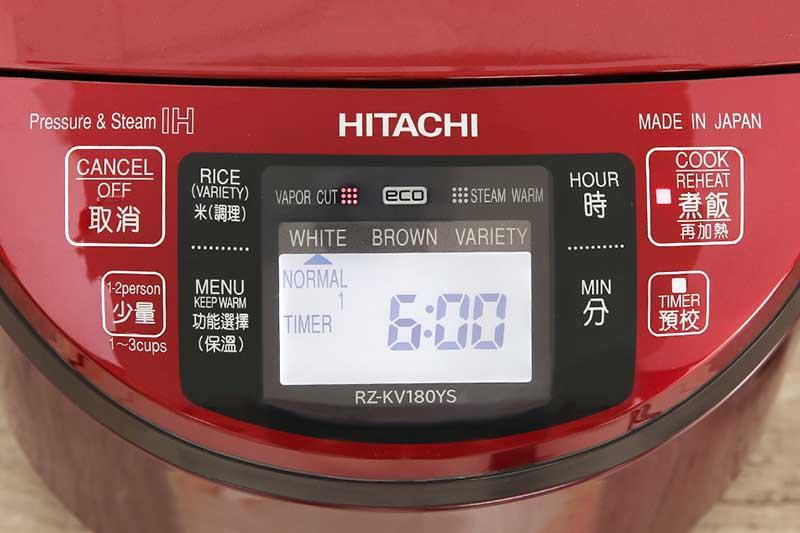 Đa chức năng - Nồi cơm điện tử Hitachi RZ-KV180YS