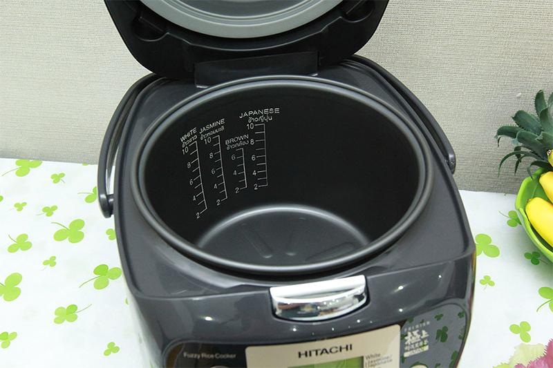 Nồi cơm điện tử Hitachi DMD18Y OBK Màu đen