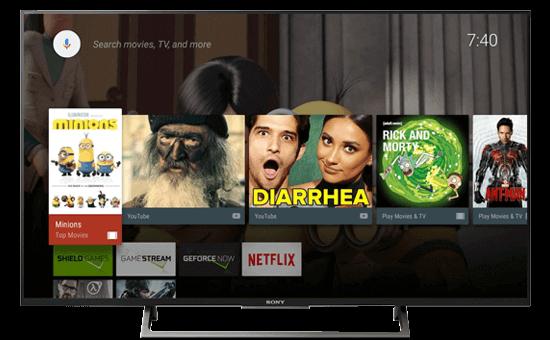 Android Tivi Sony 49 inch KD-49X8000E