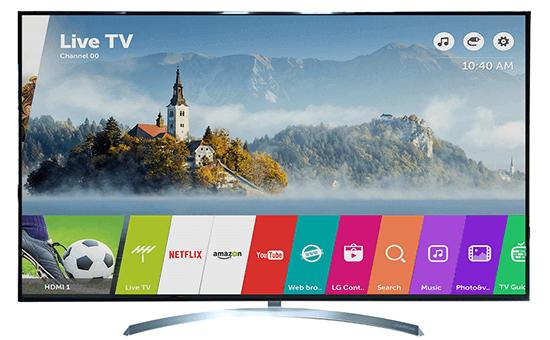 Kết quả hình ảnh cho smart tivi lg 55 inch 55sj850t