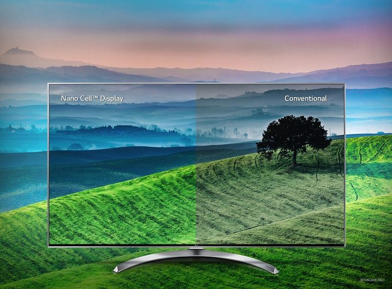 Smart Tivi LG 55 inch 55SJ800T – Công nghệ Nano Cell™