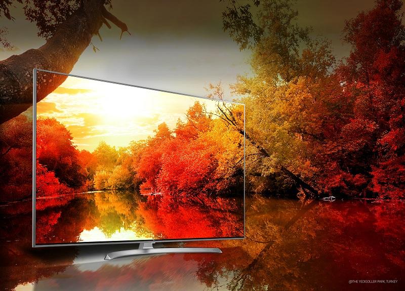 Smart Tivi LG 55 inch 55SJ800T – Hàng tỷ sắc màu
