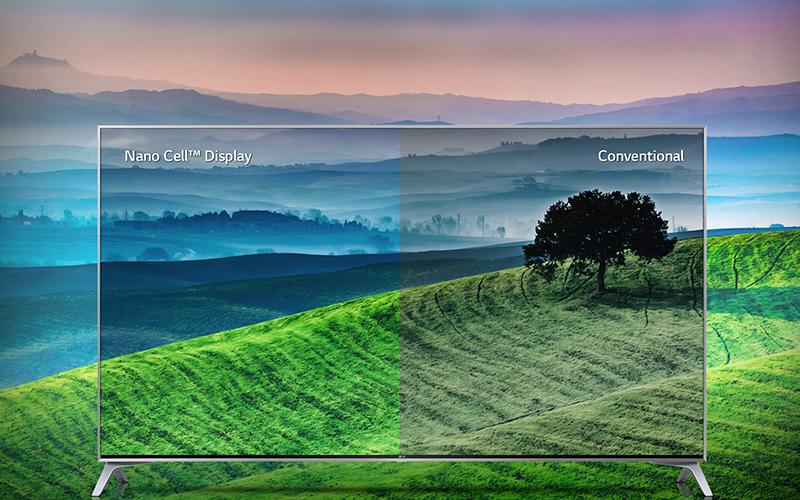 Công nghệ Nano Cell mang đến màu sắc tươi tắn