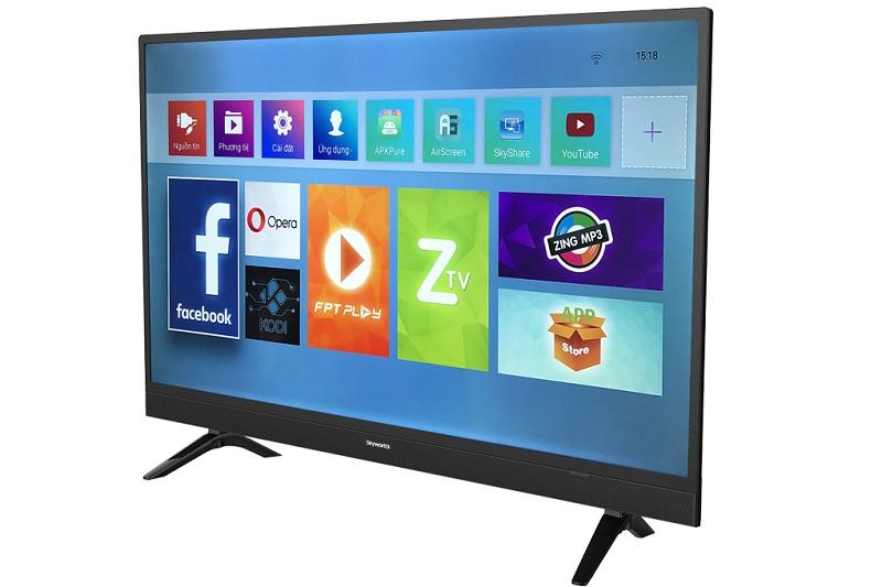 Smart Tivi Skyworth 43 inch 43S3A – Nhiều ứng dụng giải trí nổi bật
