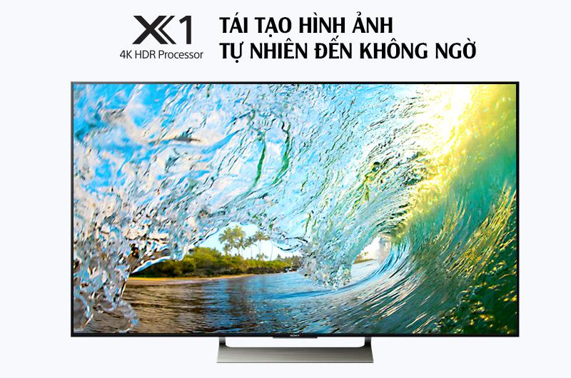 Smart Tivi Sony 4K 49 inch KD-49X9000E - Tái tạo hình ảnh chân thực