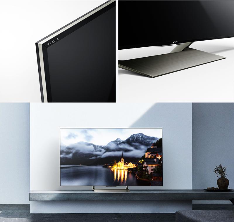 Smart Tivi Sony 4K 49 inch KD-49X9000E - Kiểu dáng sang trọng