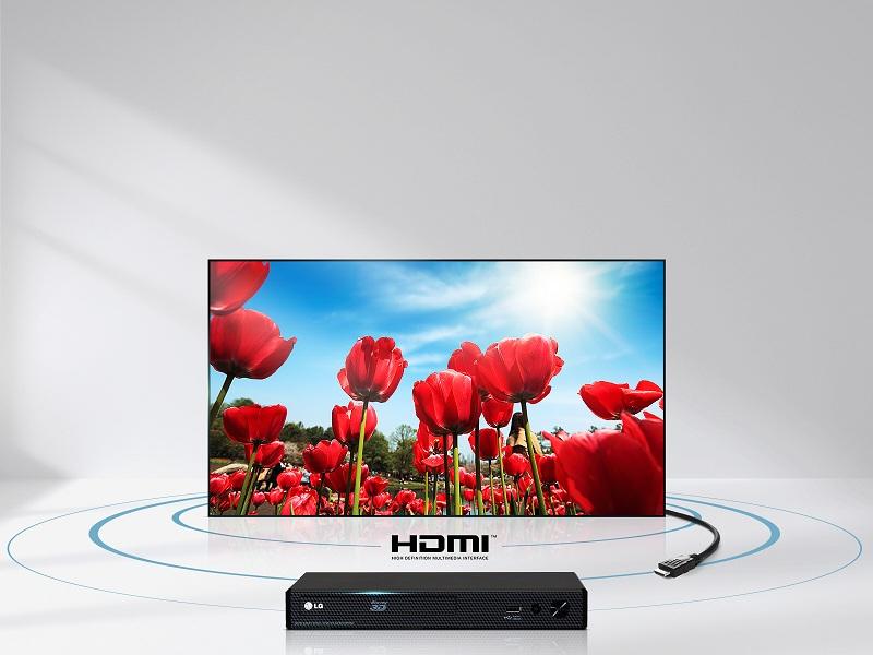 Smart Tivi LG 55 inch 55LJ550T – Kết nối HDMI