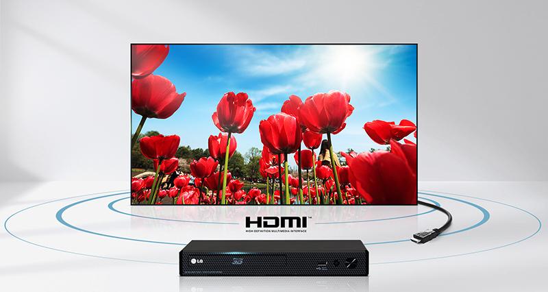 Truyền tải nội dung lên tivi qua HDMI