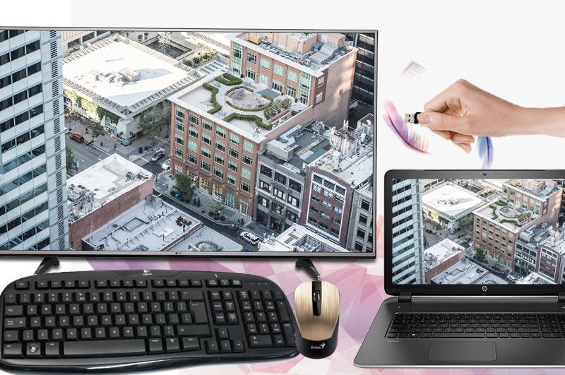 Smart Tivi LG 4K 43 inch 43UJ632T - Kết nối phong phú