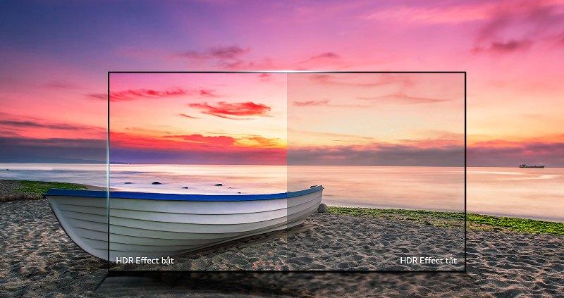 Smart Tivi LG 4K 55 inch 55UJ632T - Độ tương phản vượt trội
