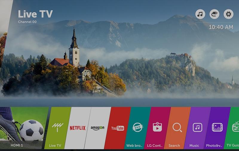 Smart Tivi LG 4K 65 inch 65UJ632T - Smart tivi với giao diện hiện đại