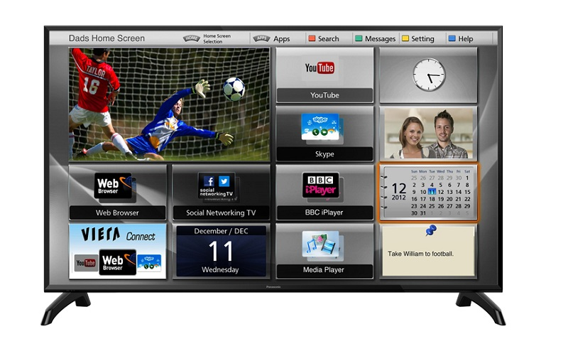 Smart Tivi Panasonic 49 inch TH-49ES500V – My Home Screen