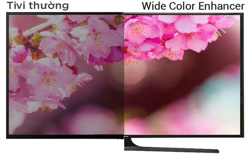 Công nghệ Wide Color Enhancer cho màu sắc chân thực