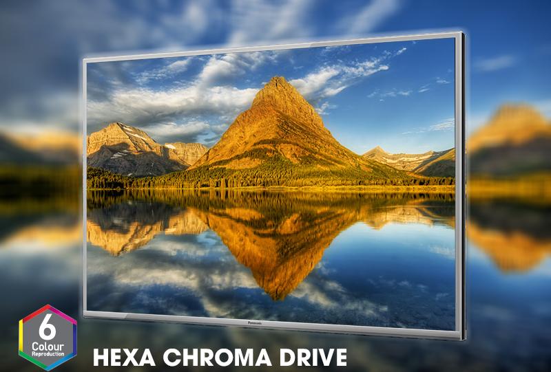 Smart Tivi Panasonic 43 inch TH-43ES500V– Công nghệ tái tạo màu độc quyền