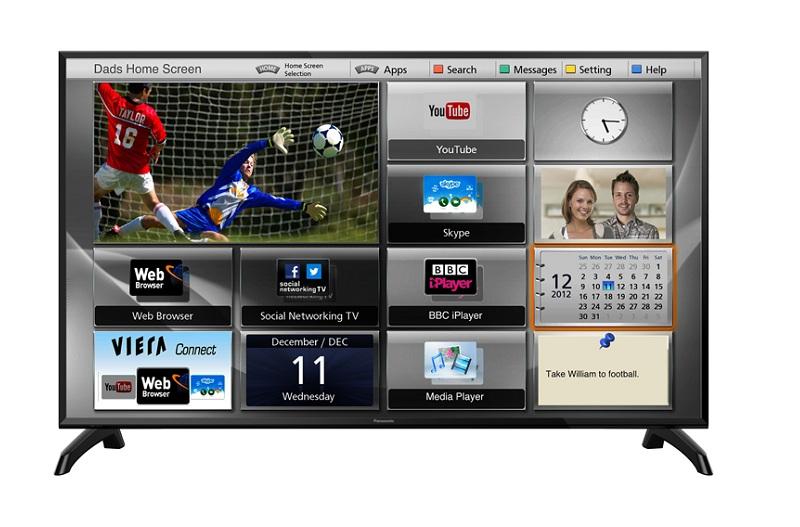 Smart Tivi Panasonic 43 inch TH-43ES500V– Kiểu dáng hiện đại, cá tính