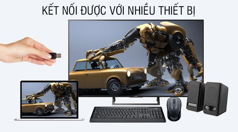 Kết nối được với nhiều thiết bị