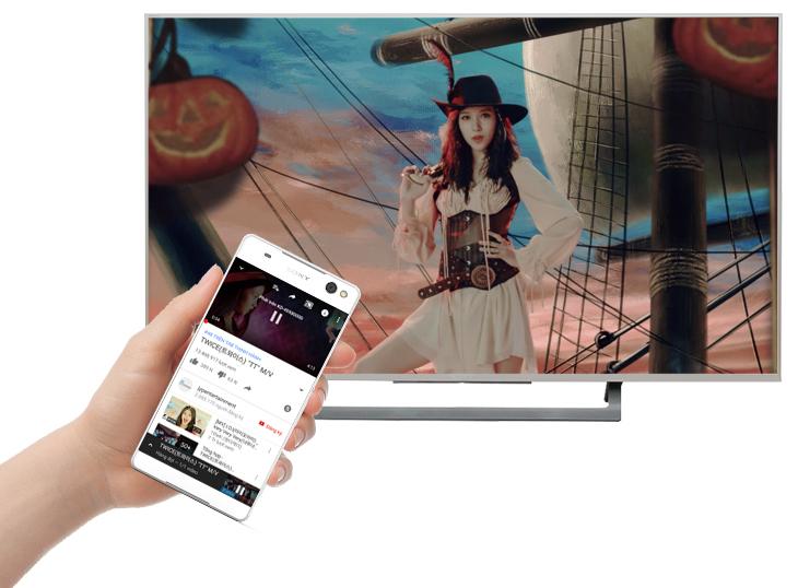 Chiếu màn hình lên tivi