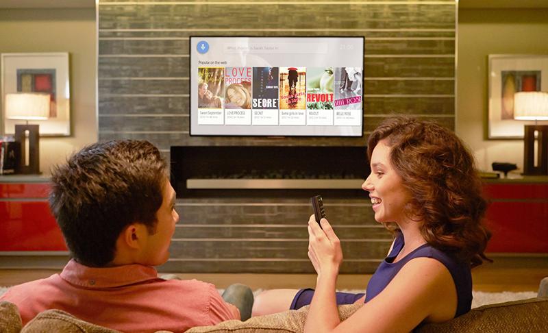 Android Tivi Sony 4K 75 inch KD-75X9400E – Tìm kiếm bằng giọng nói