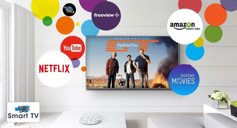 Smart Tivi Panasonic 4K 43 inch TH-43EX600V–My Home Screen