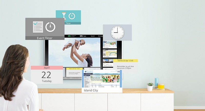 Màn hình my Home Screen