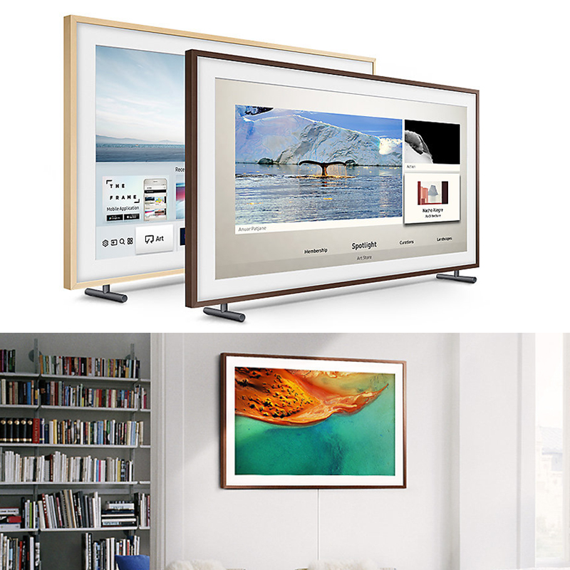 Chiếc tivi khung tranh thiết kế độc đáo