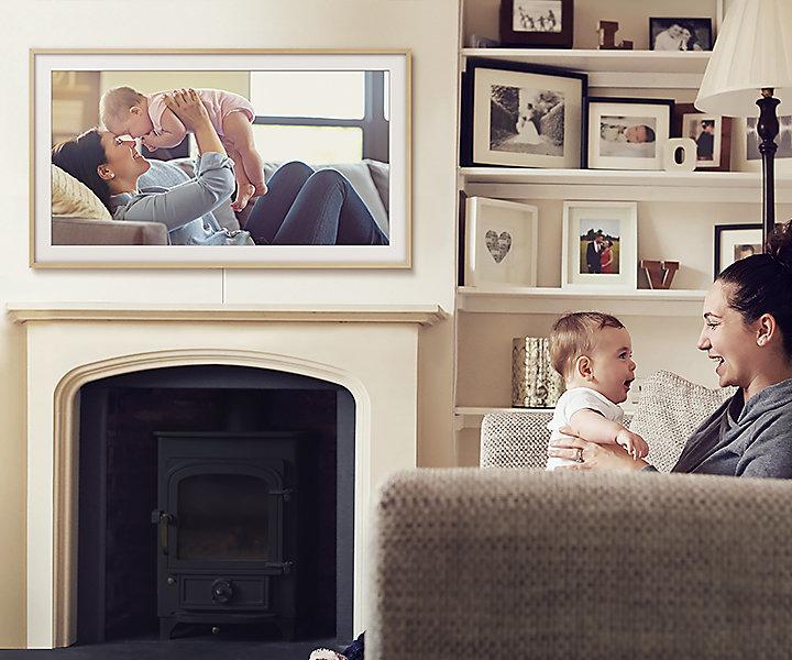 Chia sẻ ảnh cá nhân lên tivi