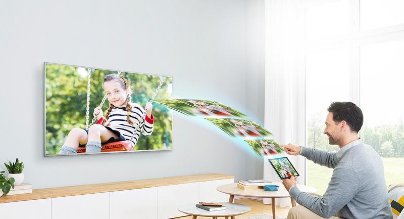 Smart Tivi Panasonic 4K 75 inch TH-75EX750V –Screen Mirroring
