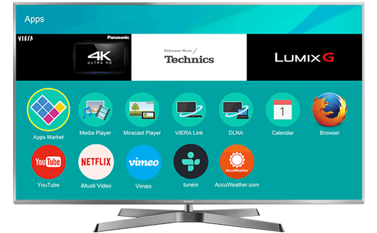 Smart TV 4K PANASONIC 75""