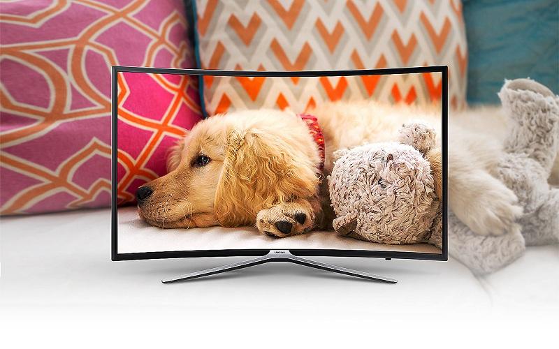 Smart Tivi cong Samsung 55 inch UA55M6303 – Thiết kế màn hình cong sang trọng