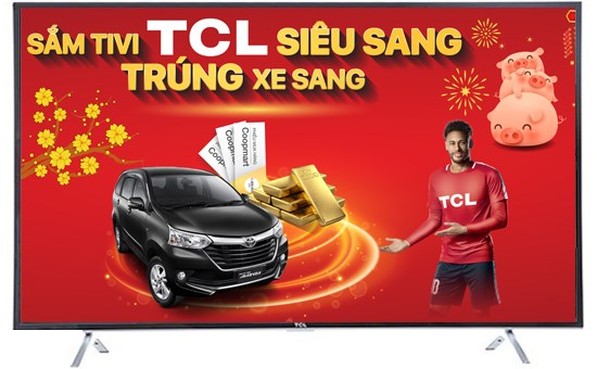 "Smart TV 4K TCL 40"""