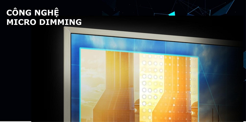 Smart Tivi TCL 4K 55 inch L55P6-UF – Micro Dimming