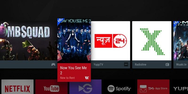 Smart Tivi TCL 4K 55 inch L55P6-UF – Nhiều ứng dụng giải trí trực tuyến hấp dẫn