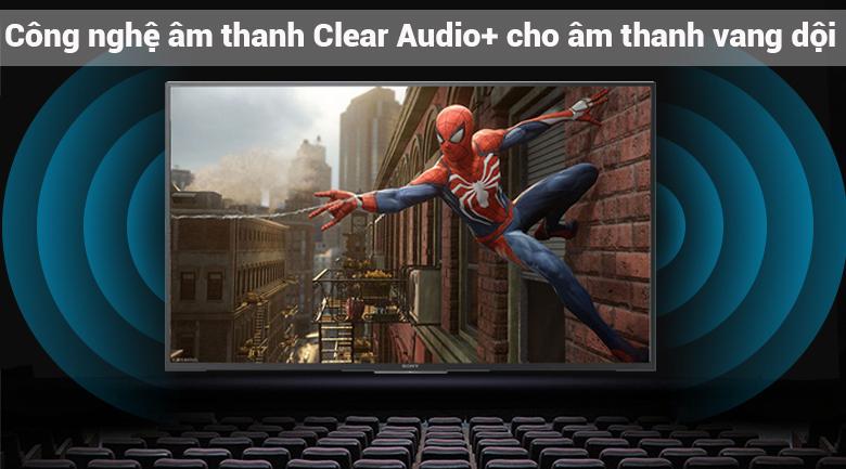 công nghệ âm thanh ClearAudio+ trên Android Tivi Sony 43 inch KDL-43W800F
